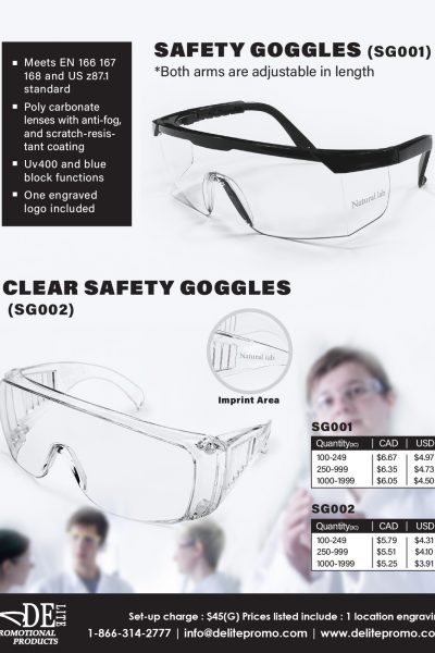 safety goggles-L