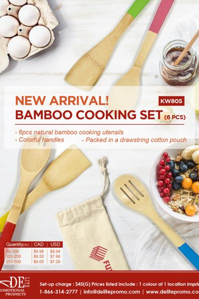 bamboo cooking set-L