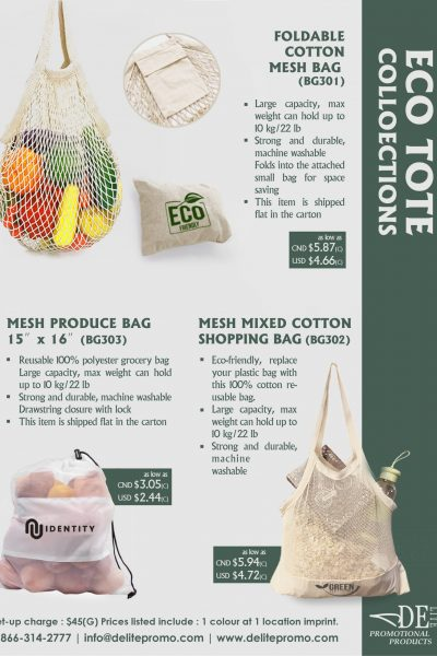 earth day- eco bag-L