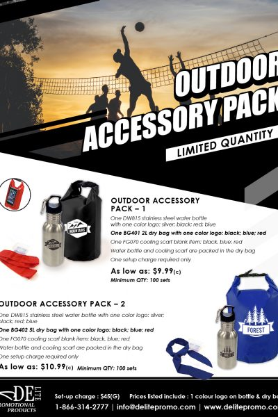 OUTDOOR ACCESSORY PACK-L