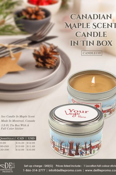 maple candle-L
